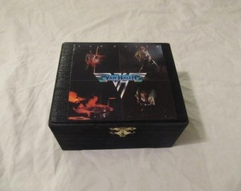 Van Halen Stash Keepsake Box