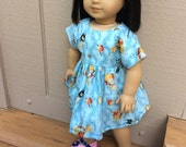 """16-18"""" doll clothes, sweet and simple Beatrix Potter, fits American Girl, Waldorf"""