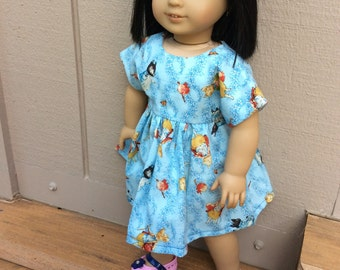 American Girl, Waldorf doll clothes, sweet and simple Beatrix Potter