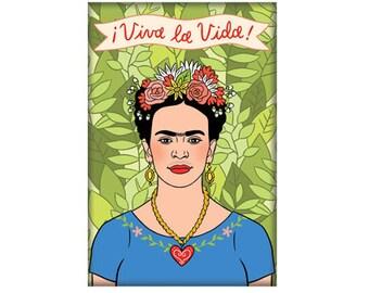 Frida Kahlo Magnet, Frida, Artist, Art, Gift, Stocking Stuffer (Item 564)