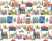 Wonderland Village, The Henley Studio for Andover Fabrics, 100% Cotton Fabric, TP-1463-1