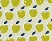 Picnic Apples in Citron, Melody Miller, Cotton+Steel, RJR Fabrics, 100% Cotton Fabric, 0021-4