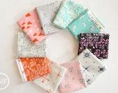 Clover Fat Quarter Bundle, 10 Pieces, Alexia Marcelle Abegg, Cotton+Steel, RJR Fabrics, 100% Cotton Fabric