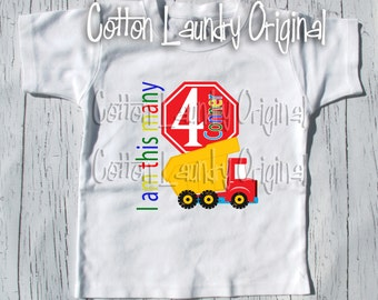 Construction birthday shirt construction birthday | party themed |birthday | shirt | baseball | short sleeve style;bulldozer