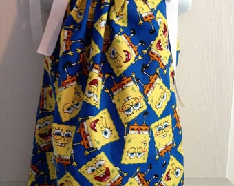 Custom Boutique Pillowcase Dress Nickelodeon SpongeBob