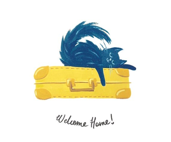 Welcome Home Card - Welcome Back Card!
