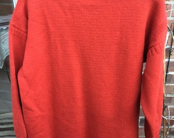 Traditional Fisherman's Guernsey sweater