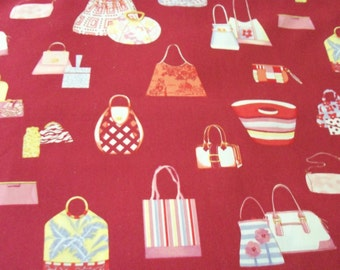Handbags Fabric Purses Styling Colorful Perfect for making Purses New By The Fat Quarter