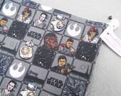 "Small Reversible WIP bag, ""Star Wars The Force Awakens"""