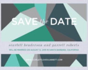 Geometric - Save the Date
