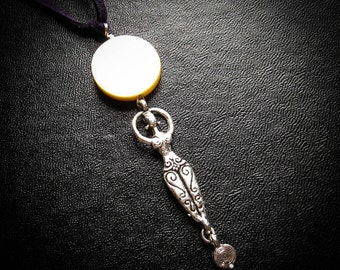 Moon Dance Goddess Pendant Necklace