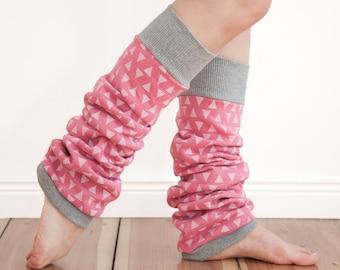 Printed leg warmers, cotton leg warmers, yoga wear, yoga leg warmers