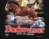 Vintage Budweiser Clydesdale T-Shirt