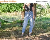 SALE High Waisted Mom Jeans Vintage 80's womens jeans