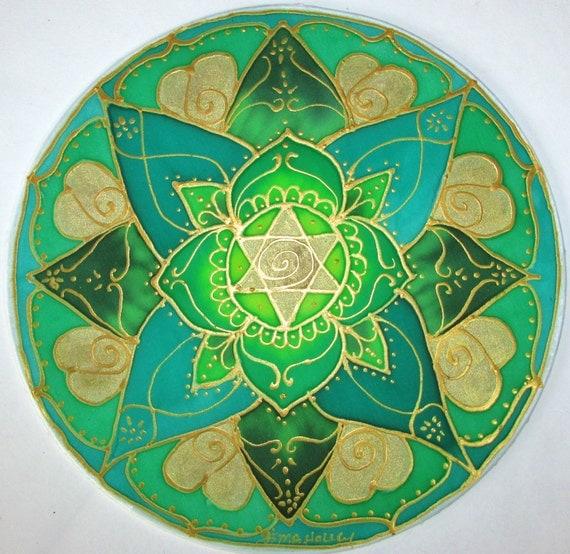 chakra mandala Heart chakraspiritual by HeavenOnEarthSilks ...