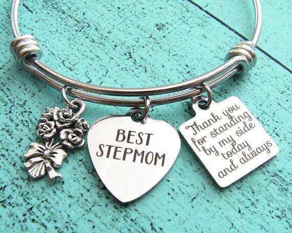Wedding Gift For Stepmom : wedding gift for stepmom, stepmom of the bride gift bracelet, stepmom ...