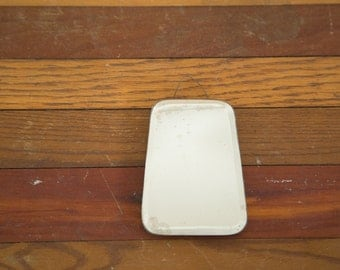 Small Antique Beveled Glass Mirror