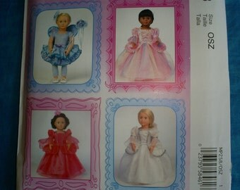 McCalls 258 6981 Crafts American Girl Pattern .