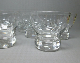 Federal glass Prestige line designed by Eva Zeisel set of 8  mid century modern