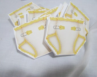 """Personalized baby shower favors  mints or cute announce """"mints"""" or pick the candy you want"""