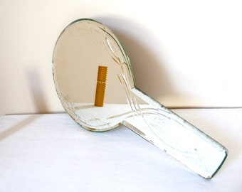 1950 French Vintage Mirror authentic Mid Century For Dressing-table