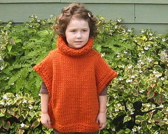 Knitting Pattern Side Button Poncho : Side button poncho Etsy