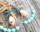 Starfish Kisses Shell Earrings