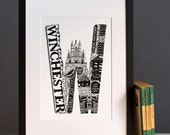 Winchester print or greeting card