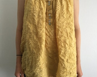 Yellow Tunic (Sz M)