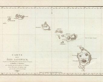 Hawaiian Islands 1786