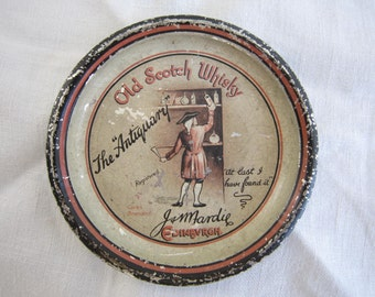 Antique Advertising Tip Tray