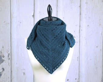 Crochet Pattern-- Crofton Shawl --Crochet Pattern