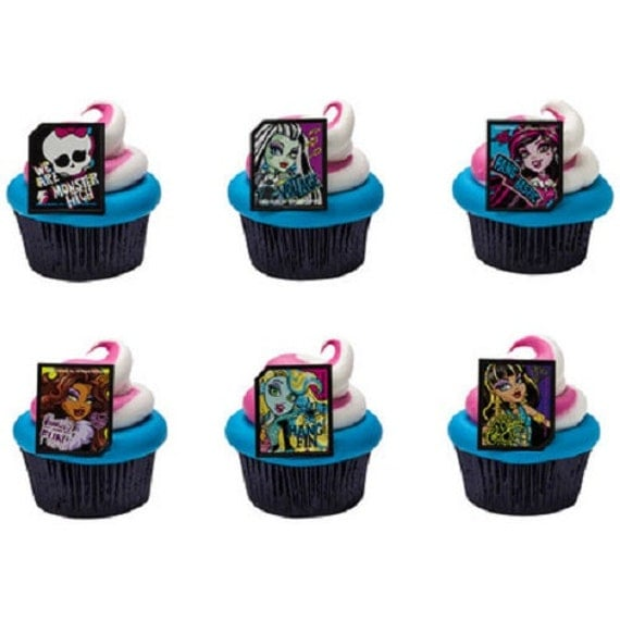 Cupcake Rings Monster High
