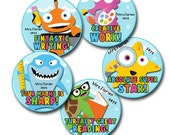 SCHOOL OF FISH 2 Personalized stickers for Teachers