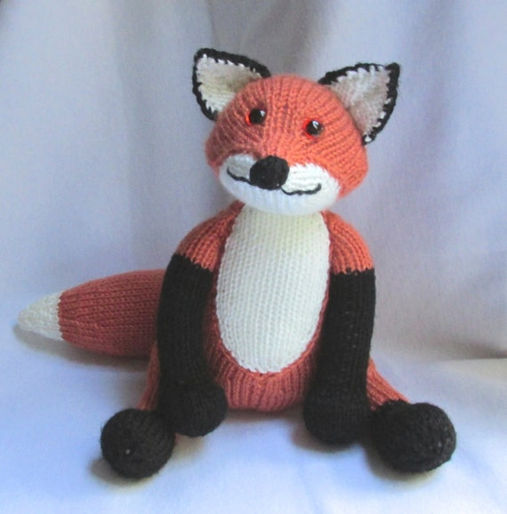 Toy Fox Knitting Pattern Pdf File By Automatic