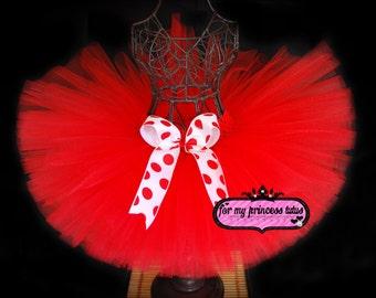 Red Tutu -Valentine's day tutu, holiday tutu, baby tutu Christmas, Christmas tutu, dress up tutu, pageant tutu, birthday tutu, diva tutu