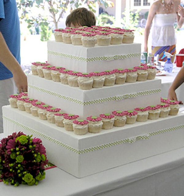 Cupcake Stands For Weddings: DIY Cupcake Stand Instructions