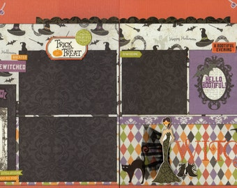 Bootiful Scrapbook Kit - 5 Pages