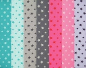 TINY STARS cotton elastane single jersey in seven colors