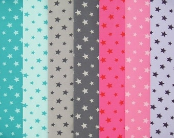 TINY STARS cotton elastane single jersey