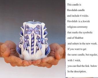 Havdalah candle - havdalah candles - Candles from Israel