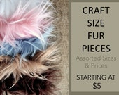 Craft Size Faux Fur, Scraps, Fur Fabric, Craft Fur, Costume, Faux Fur Fabric, Fur Trim, Fake Fur Remnants, Fabric Scrap Fur for Cosplay