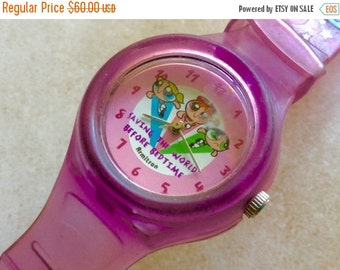 Powerpuff girls watch pink watch by Armitron vintage cartoon watch