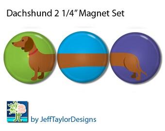 Dachshund Magnet Set