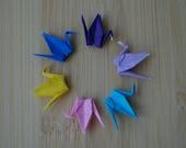 Origami Crane charm for glass locket-miniature origami crane