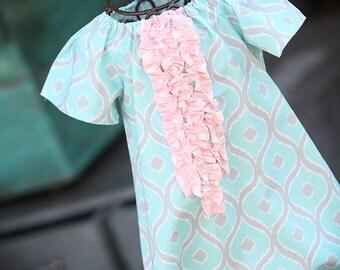 Pastel Ruffle Dress