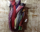 Shibori Silk  Scrap Variety #4