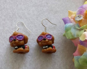 Pair of Dog Earrings