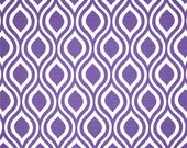 1 Yard Thistle Purple Nicole Fabric - Ornament Tear Drop - Premier Prints Home Decor - Fabric by the Yard