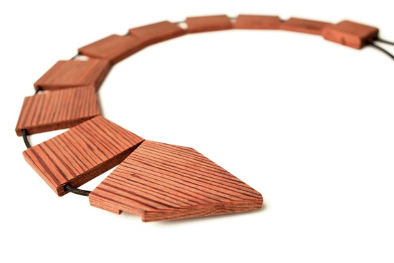 Original Wood Tie  - Made From Reclaimed Redwood